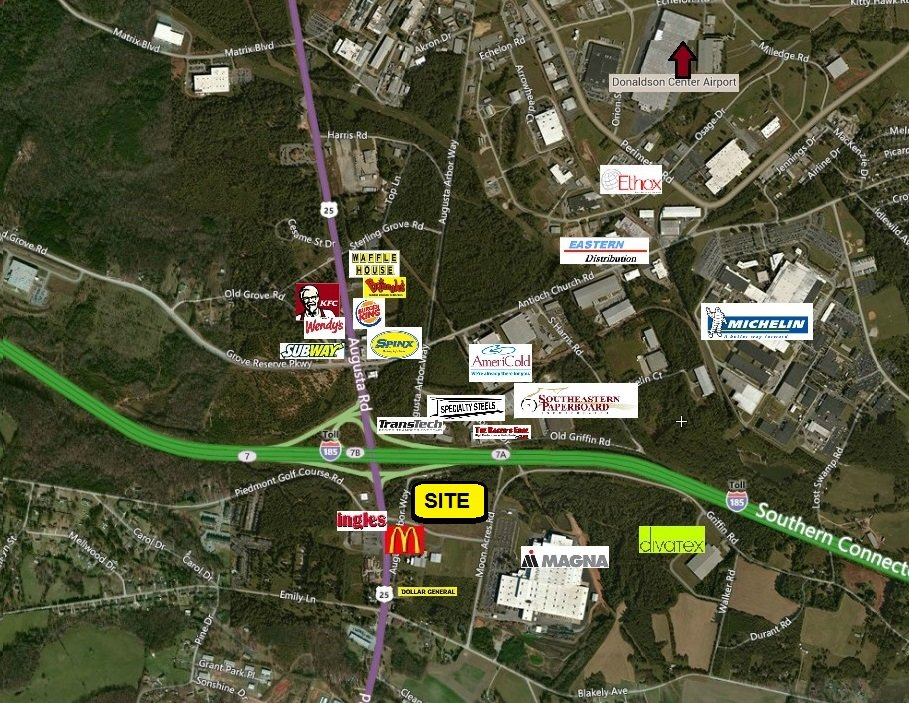 FOR SALE – J Walter Moon Blvd & Old Augusta Rd Ext