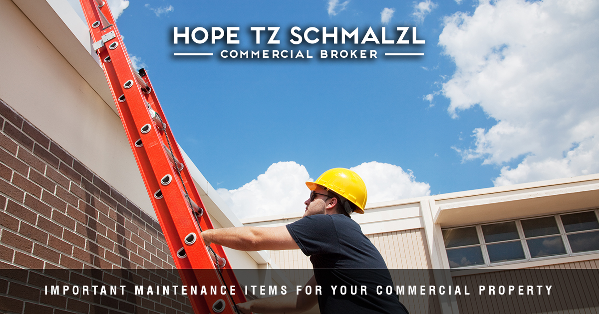 Important Maintenance Items For Your Commercial Property