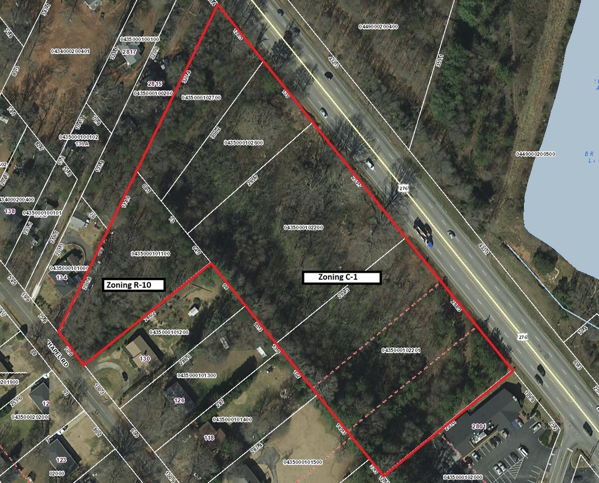 Property Spotlight – Redevelopment 6 +/- Acres off Poinsett Hwy.