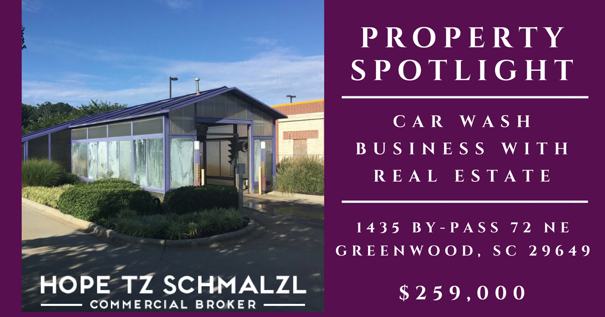 Car Wash Business with Real Estate